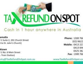 #91 untuk Logo Design for Tax Refund On Spot oleh need2work4u