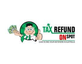 #118 para Logo Design for Tax Refund On Spot por ImArtist