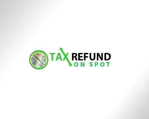 Konkurrenceindlæg #85 for Logo Design for Tax Refund On Spot