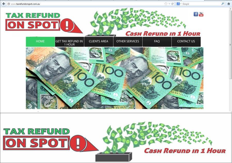 Konkurrenceindlæg #165 for Logo Design for Tax Refund On Spot