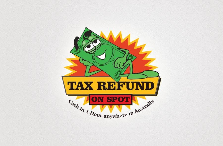 Bài tham dự cuộc thi #121 cho Logo Design for Tax Refund On Spot