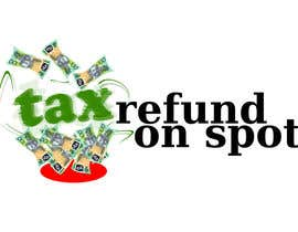 #56 untuk Logo Design for Tax Refund On Spot oleh shaynefly
