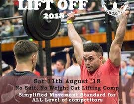 #3 para Poster Design for Olympic LIfting Competition de TH1511