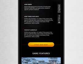 Dimariq tarafından Design a mobile landing page for World of Tanks Blitz için no 5