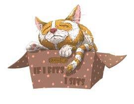 #67 untuk Draw A Cute Cat T-Shirt Design oleh MarekDAZPostulka