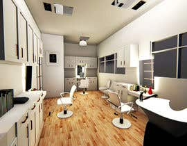 #6 for Need an image file of what a new room at a beauty salon will look like by fadymaged97