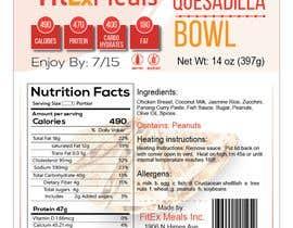 #27 for Design a Food Label for a Meal Prep Company af Hrhasan36