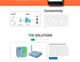 zonicdesign tarafından Design a Website Mockup for a temperature monitoring app için no 17