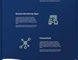 #28 for Design a Website Mockup for a temperature monitoring app by leonby27