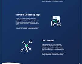 leonby27 tarafından Design a Website Mockup for a temperature monitoring app için no 28