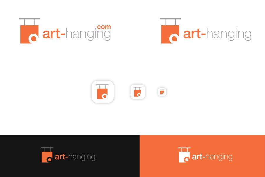 Kilpailutyö #                                        73                                      kilpailussa                                         Logo Design for art-hanging.com