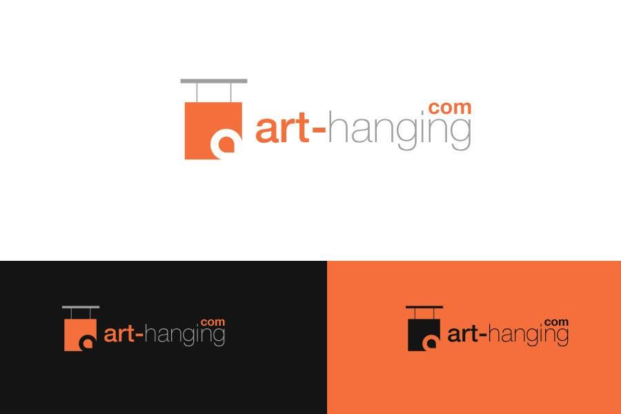 Inscrição nº 57 do Concurso para Logo Design for art-hanging.com