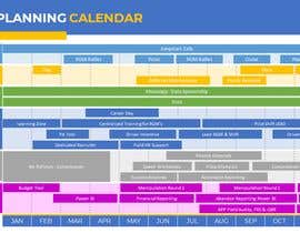 #3 for PowerPoint Planning Calendar by Ga1ina