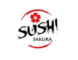Tidar1987 tarafından Illustrate a Logo Sushi Sakura için no 26