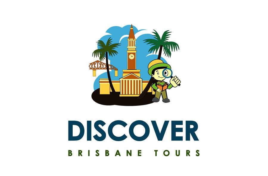 Bài tham dự cuộc thi #277 cho Logo Design for Discover Brisbane Tours