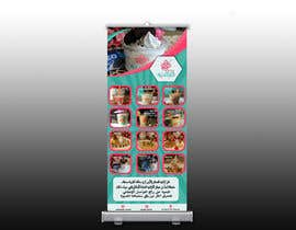 nº 11 pour design menu and rollup stand banner in Arabic par yanzStudio