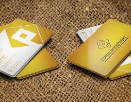 nº 8 pour Design some Business Cards for investor company par webixbd