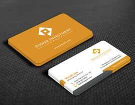 nº 70 pour Design some Business Cards for investor company par mamun313