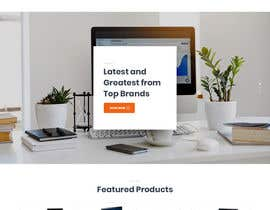 #6 untuk Design a Website Landing page for a Tech Retail store. oleh nizagen