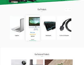 #17 untuk Design a Website Landing page for a Tech Retail store. oleh yasirmehmood490