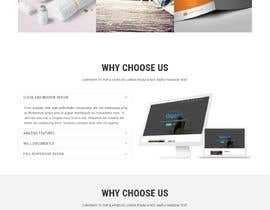 #9 untuk Design a Website Landing page for a Tech Retail store. oleh alifffrasel
