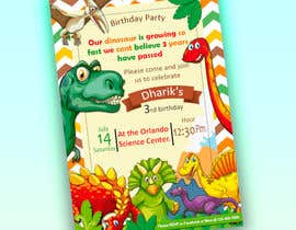 #26 for Kid's birthday party invitation by marianayepez
