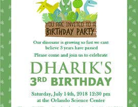 #20 for Kid's birthday party invitation by TINKERSMIND