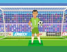 #7 for Soccer players ilustrations af Akheruzzaman2222
