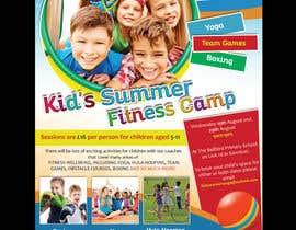 #20 untuk kids summer fitness camp poster oleh savitamane212