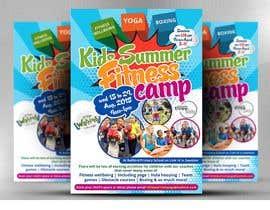 #11 untuk kids summer fitness camp poster oleh satishandsurabhi