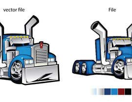 nº 17 pour vector and clean up truck par darbarg