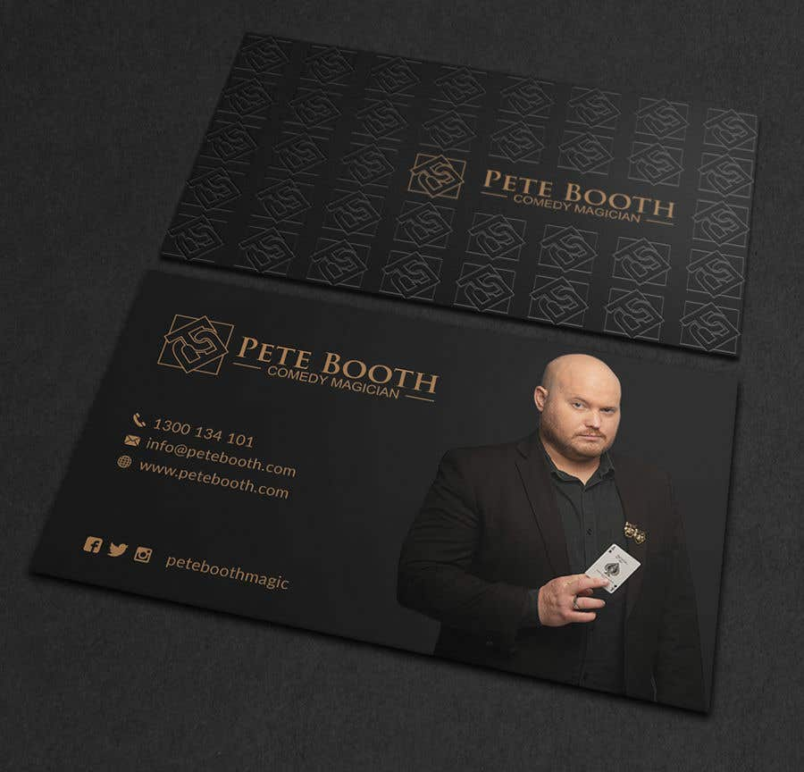 Entry #64 by Neamotullah for Design Corporate Magician Business Card ...