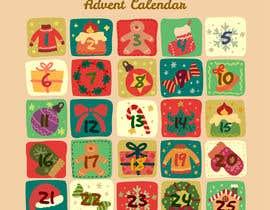 #25 para Create a new range of xmas advent calendar por sudhy8