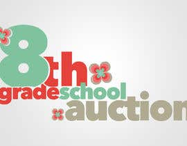 #4 for School Auction Logo by athinadarrell