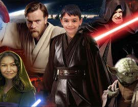 #59 cho Add my nephew to a Star Wars poster or scene bởi epi2310