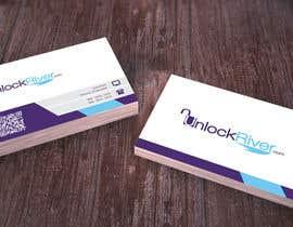 nº 118 pour Design some Business Cards for UnlockRiver par akhanmir