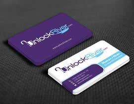 nº 69 pour Design some Business Cards for UnlockRiver par mamun313