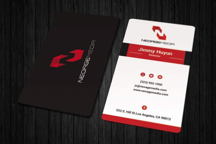 Contest Entry #47 for Hi-tech Business Card design.