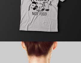 """Nro 17 kilpailuun Vegan tattoo - """"Friends Not Food"""" käyttäjältä Exer1976"""