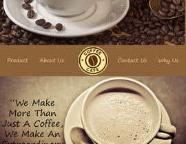 #13 for Design a Website Mockup for Coffe Company Profiles af indra27
