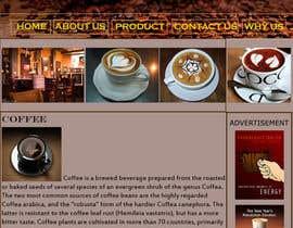 #10 for Design a Website Mockup for Coffe Company Profiles af oreorova