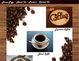 #15 for Design a Website Mockup for Coffe Company Profiles af yanapurenda95