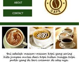 #18 for Design a Website Mockup for Coffe Company Profiles af j1mm1