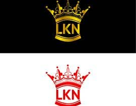 """#30 untuk Need a logo made for my brand. Just the letters """"LKN"""" and a crown on top oleh bdghagra1"""
