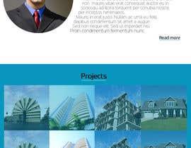 nawalkhan tarafından Design a Website Mockup for Architect için no 35