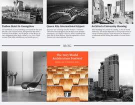 admerre tarafından Design a Website Mockup for Architect için no 40