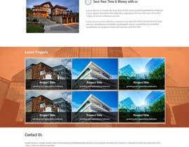 kethketh tarafından Design a Website Mockup for Architect için no 46