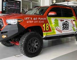 #17 for Car Vinyls Graphic Design for Expedition truck Adventure Trip by jbktouch