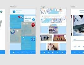 nº 28 pour iPhone App Design Mockup par gopi00712122
