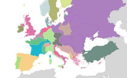 Hình ảnh của                             Vector Country Map Editing / Cre...